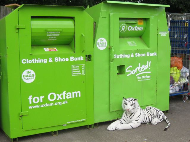 Recycle for Oxfam or you'll be sorted