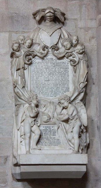 St Margaret, King's Lynn, Norfolk - Wall monument