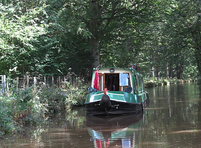 "Narrowboat ""Gwyneth"""
