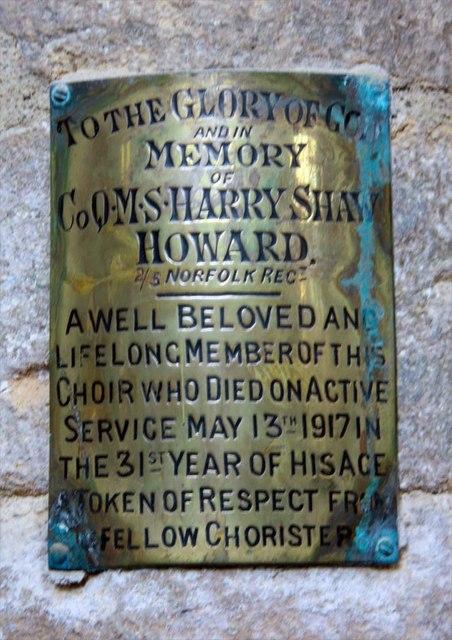 St Margaret, King's Lynn, Norfolk - Brass