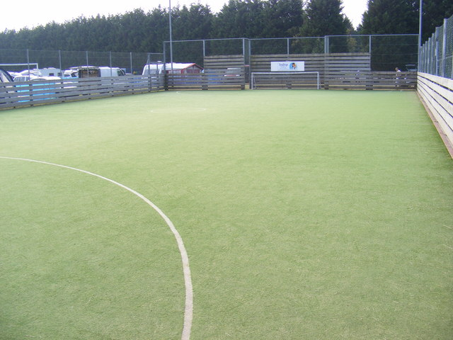 Football Pitch at Plantation Park Sports Centre