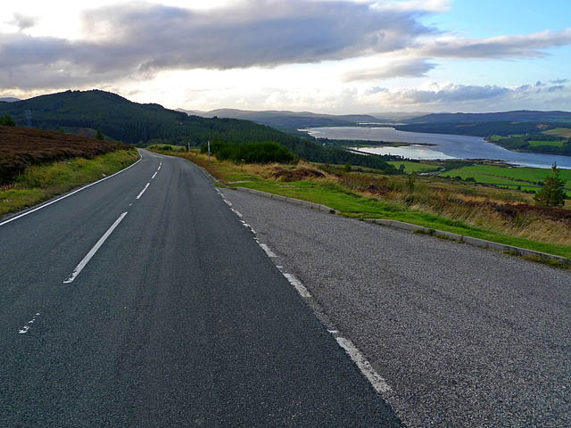 B 9176 Near the Struie Hill Viewpoint