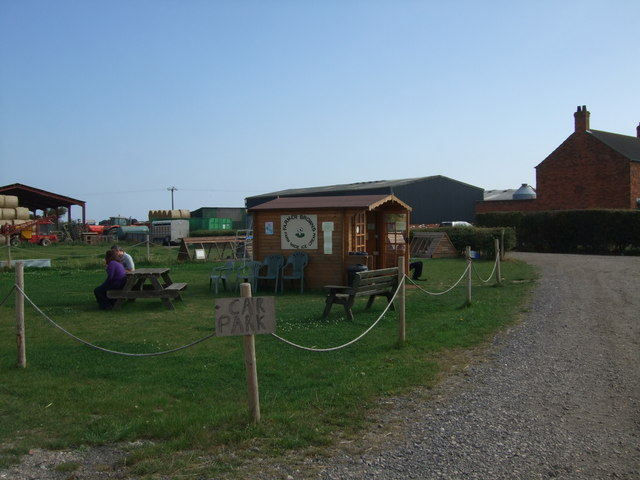 Farmer Browns Ice Cream Parlour at Huttoft