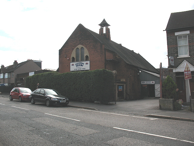 Former St John's church, Eardley Road, Streatham