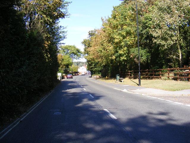 B1438 Snowdon Hill, Wickham Market