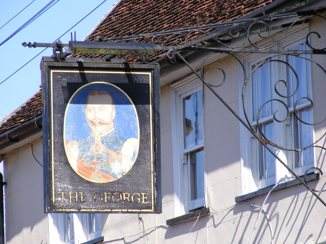 The George Public House Sign