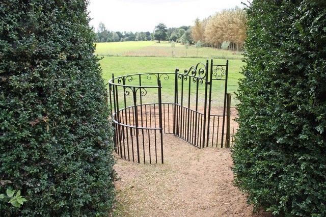 St Michael, Ryston, Norfolk - Churchyard gate
