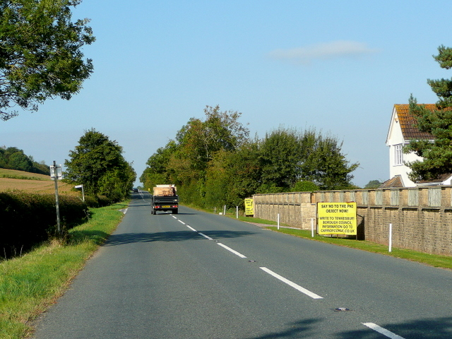 B4213 west of Tirley