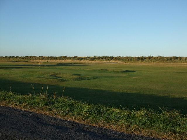 17th Green Sandilands Golf Course