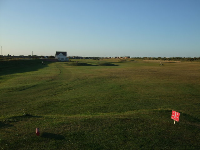 The last two holes and home at Sandilands Golf Course