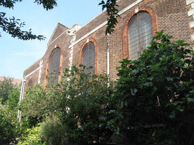 St. Nicholas' Church, Deptford Green, SE8 - south side
