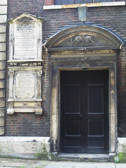 St. Nicholas' Church, Deptford Green, SE8 - north door