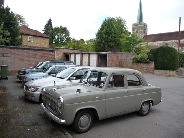 Ford Prefect in Rectory Close
