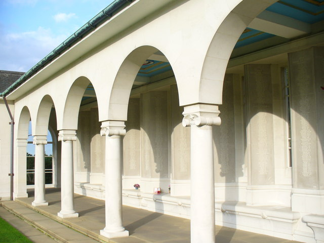 Cloister at the Air Forces Memorial