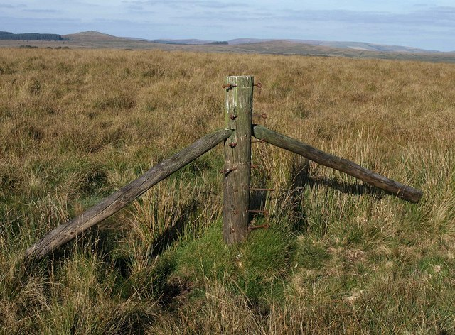 Post without a fence