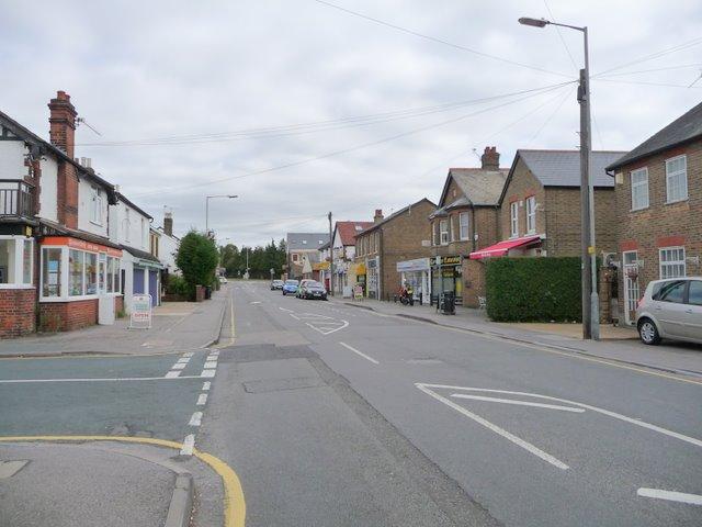 Eastfield Road, Lent Rise, at Milner Road junction