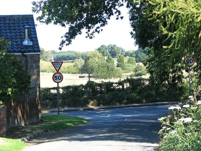 Sallow Lane meets Kirby Road