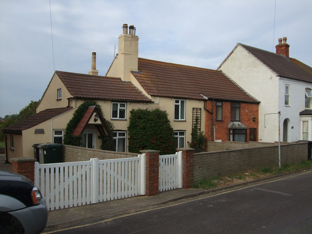 Former Fishermens Cottages at Sutton on Sea