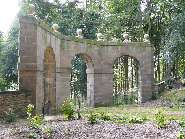 Archer's Hill Gate, Wentworth Castle grounds, Stainborough