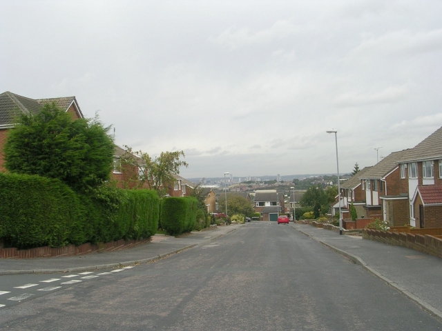 Harwill Road - viewed from Harwill Avenue