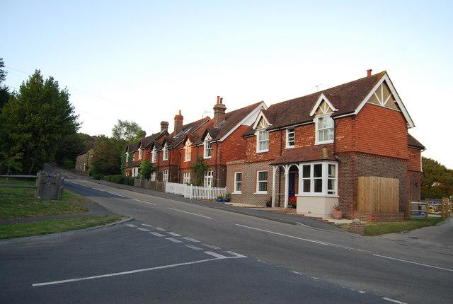 Cottages, Main Rd, Crookham Hill