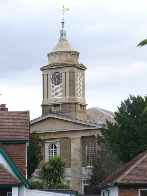 Egham Parish Church Tower