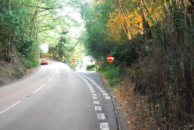 Junction of B269 & Smith's Lane, Crockham Hill