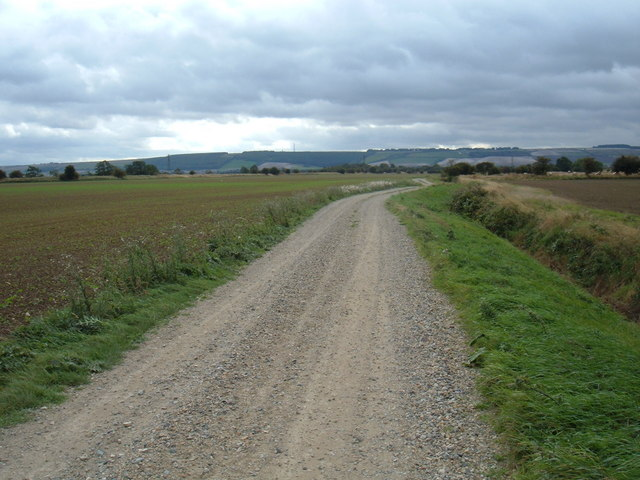 Track to  Ings Farm