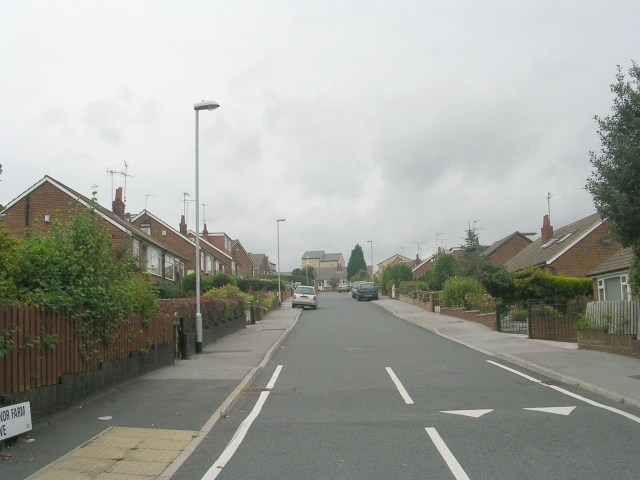 Manor Farm Drive - Old Road