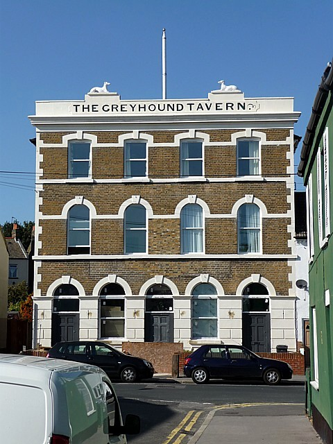 Former Greyhound Tavern, Holland Road