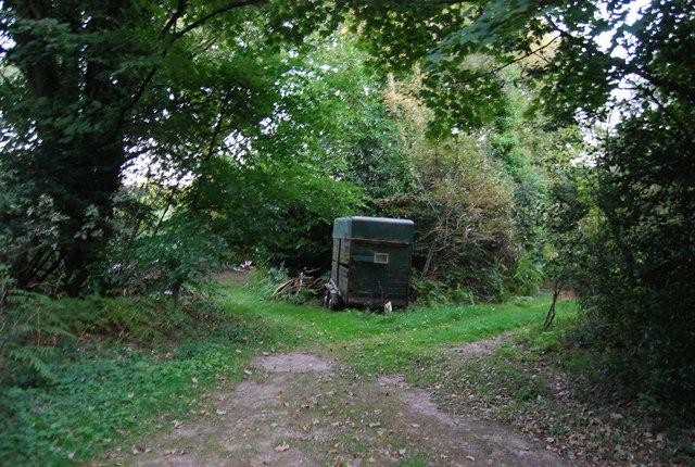 Abandoned machinery, Crockham Hill Common