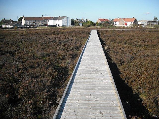 Board walk, Greengairs