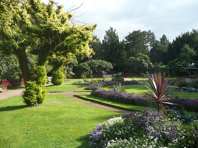 The Victorian Flower Garden, Wentworth Castle Grounds, Stainborough