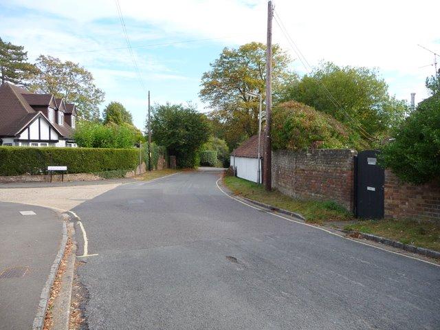 Old Place (Black door on right) adjacent to Farnham Court