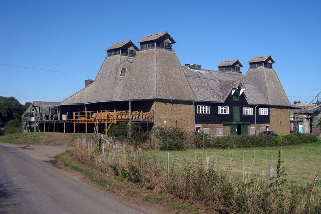 Working Oast House on South Street, Boughton-under-Blean, Kent