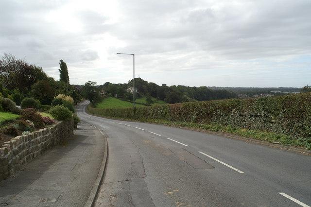 The B6230 into Walton-le-Dale
