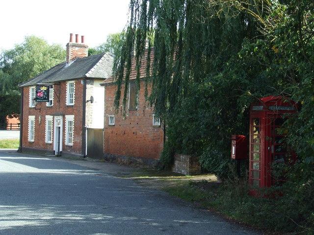 Pub And Phone Box