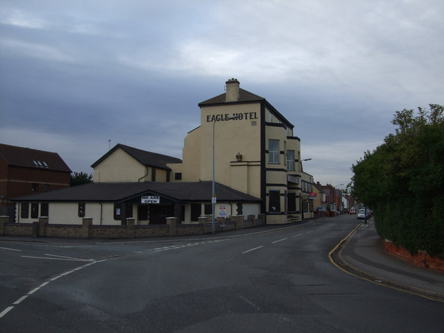 Eagle Hotel corner of Seaholme and Victoria Roads Mablethorpe