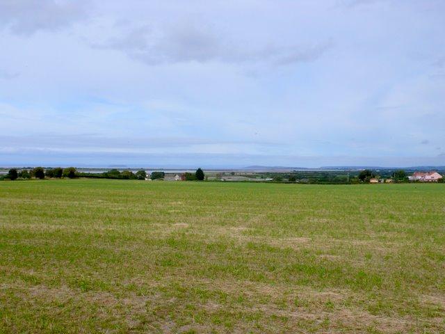 View across Stretcholt