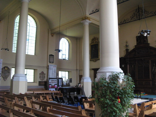 St. Nicholas' Church, Deptford Green, SE8 - interior