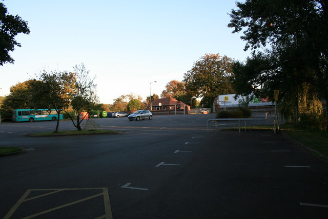 Morrisons car park, Blandford Forum