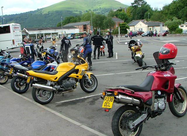 Sunday morning bike meet