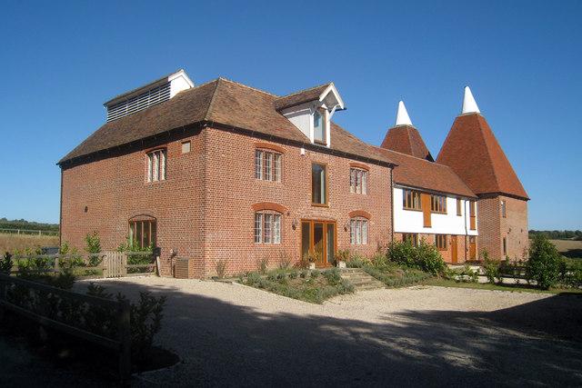 Martens Oast, Lower Ensden Farm, Lower Ensden Road, Old Wives Lees, Kent
