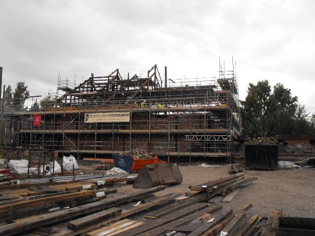 Dismantling Stove House 5 at Lion Salt  Works