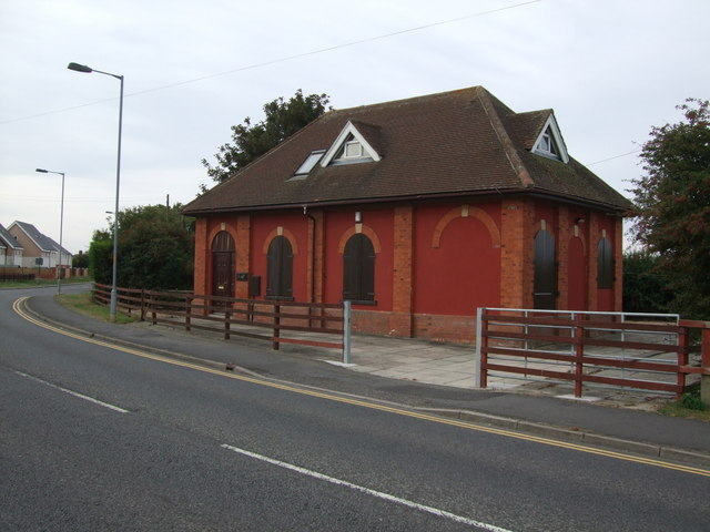 Pumping Station on Huttoft Road Sutton on Sea