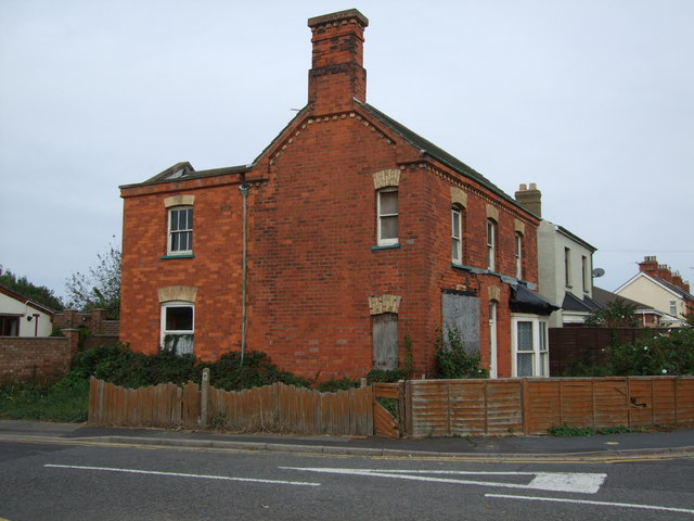 Derelict House Sutton on Sea