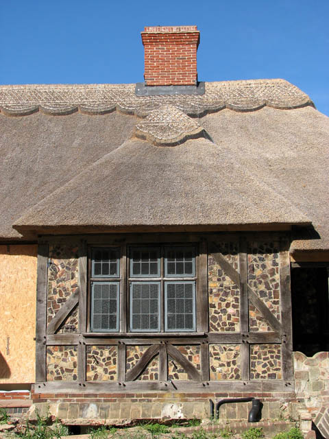 Rivercourt - Arts and Crafts Cottage (detail)