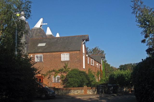 Oast House on Park Farm Close, Tyler Hill, Kent