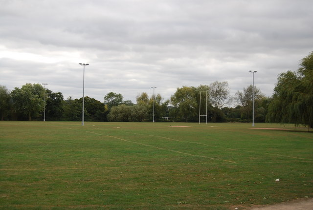 Rugby Pitch by The Wealdway