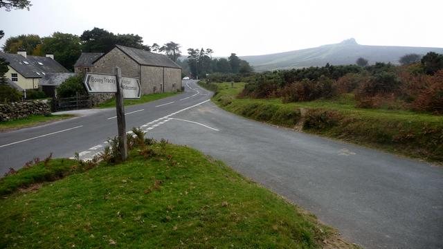 Road junction - B3387